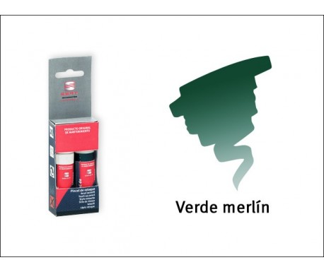 Stylo de retouche Vert Merlin S6N