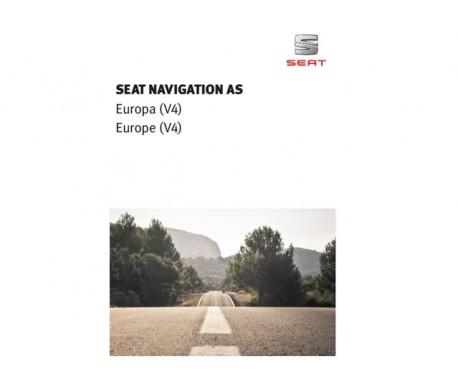 Mise à jour de la cartographie pour le système de navigation de la Seat Navigation System Europa (V4) MIB Gen2