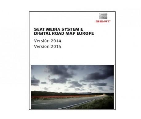 Mise à jour des cartes routières du SEAT Media System E V.2014