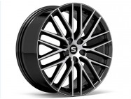 "Jante alu 19"" Diamantée sur fond noir  Performance Pack"