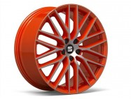 "Jante alu 19"" Diamantée sur fond orange - Performance Pack"