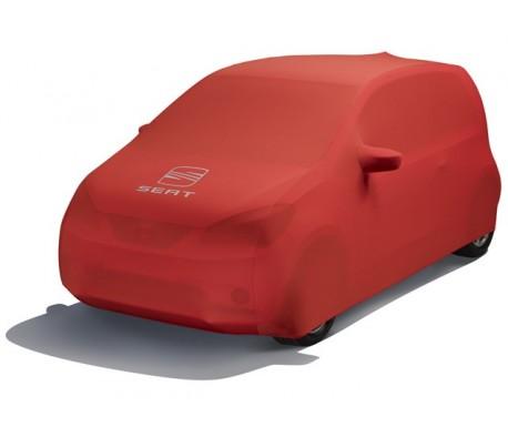 Housse de protection rouge - Ancien logo SEAT