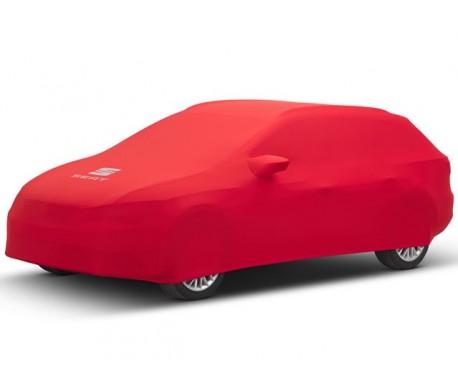 Housse de voiture rouge LEON ST