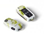 Coque de  clé Ecomotive avec bouton latéral ALHAMBRA