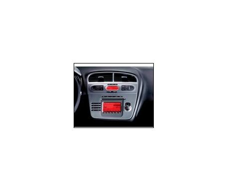 Finition aluminium air conditionné avec radio