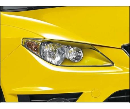 Phares double optique couleur jaune