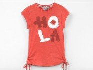 T-Shirt fille Cranberry