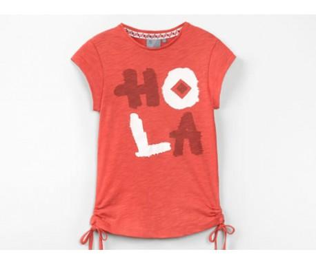 T-Shirt fille Cranberry