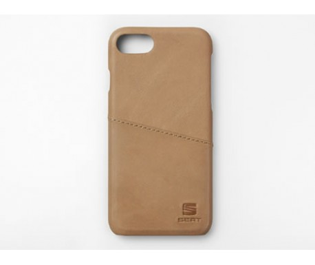 Étui iPhone (cuir) Caramel