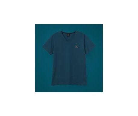 T-shirt Bleu pétrol col V CUPRA