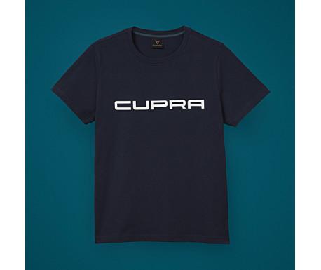 T-shirt Noir avec Logo CUPRA