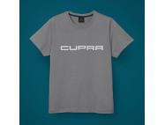 T-shirt Gris avec logo CUPRA