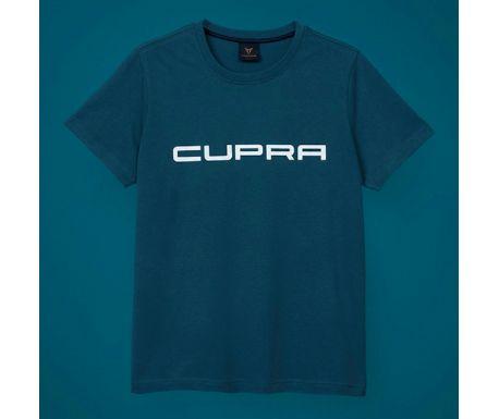 T-shirt Homme Bleu avec logo CUPRA